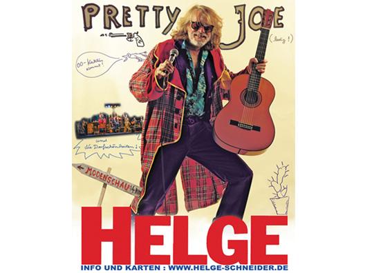 2 Tickets für das Konzert von Helge Schneider im Tempodrom am 27. März 2014