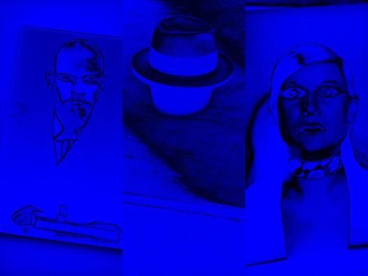 TESTCUTS #14 2014 Archival Print auf Supreme Matte Karton 230 gqm Cymbolic Printers Düsseldorf 2014 85 x 111,8 cm AP für Operndorf Afrika Limit: 8.500 €  © Katharina Sieverding, VG Bild-Kunst